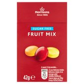 Morrisons Sugar Free Mixed Fruit Sweets