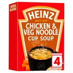 Heinz Classic Chicken Noodle & Vegetable Cup Soup