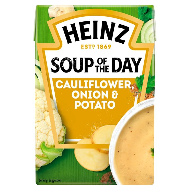 Heinz Soup Of The Day Cauliflower Onion & Potato