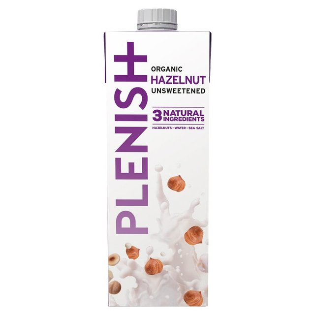 Plenish Organic Hazelnut Unsweetened