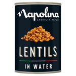 Napolina Lentils In Water