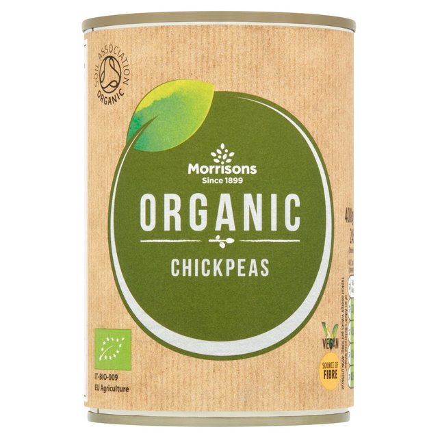Morrisons Organic Chick Peas In Water