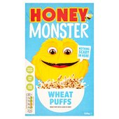 Honey Monster Wheat Puffs