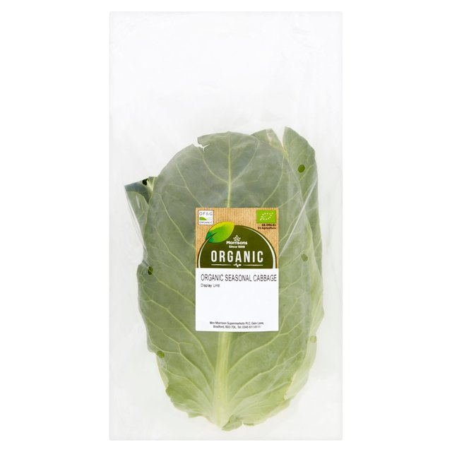 Morrisons Organic Seasonal Cabbage