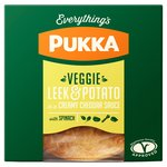 Pukka Pies Veggie, Potato, Leek & Cheese