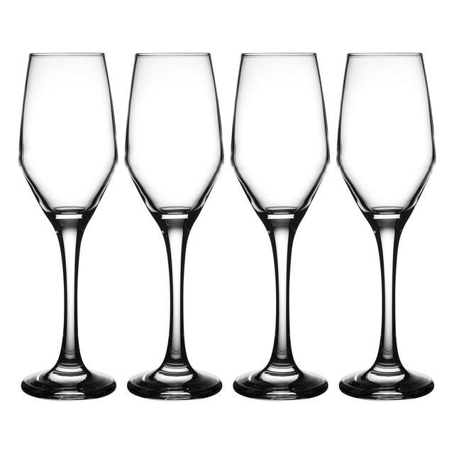 Ravenhead Majestic Flute Glasses 21cl