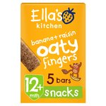 Ella's Kitchen Banana + Raisin Oaty Fingers 5 Handy Bars