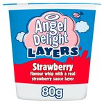 Angel Delight Strawberry & Strawberry Layer