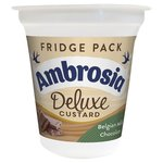 Ambrosia Deluxe Custard With Belgian Chocolate Fridge Pack
