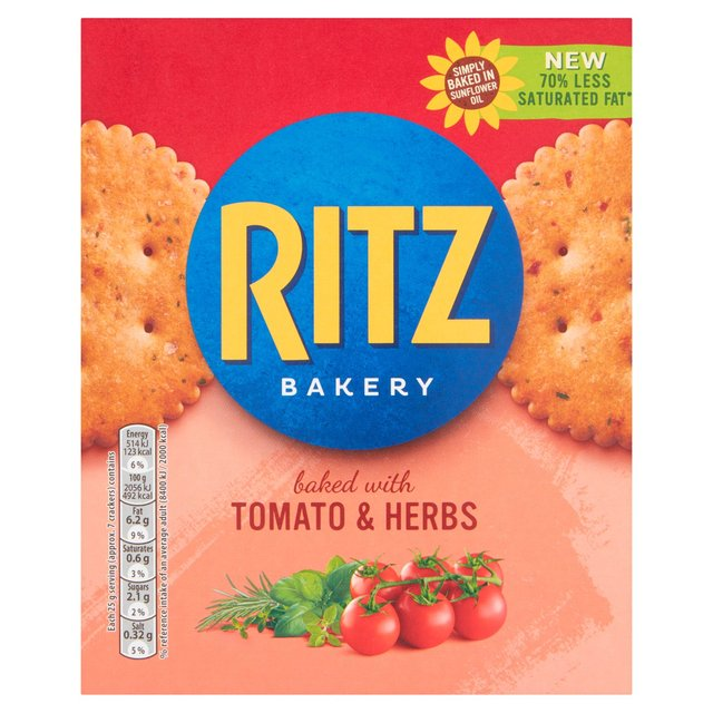 Ritz Baked With Tomato & Herbs