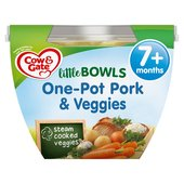 Cow & Gate One-Pot Pork Veggies Little Bowl Meal