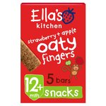 Ella's Kitchen Strawberry /Apple Oaty Fingers 5 Handy Bars