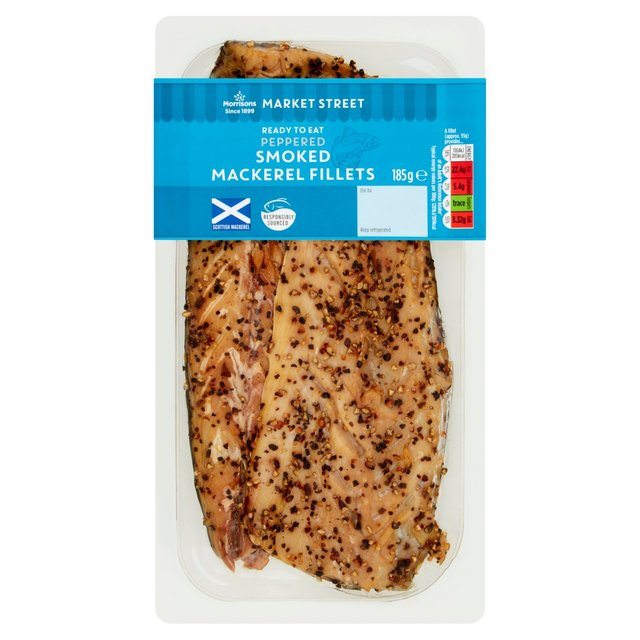 Morrisons Hot Smoked Peppered Mackerel Fillets