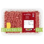 Morrisons British Beef Mince 12%