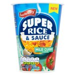 Batchelors Super Rice & Sauce Mild Curry Flavour