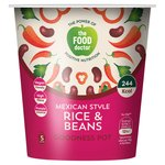 The Food Doctor Mexican Style Rice & Beans Goodness Pot