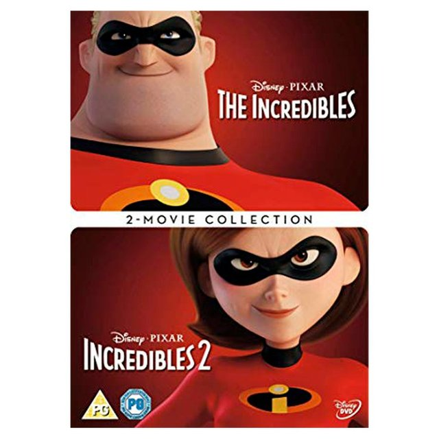 Incredibles 1 & 2 Dvd