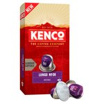Kenco Lungo Intense Aluminium Coffee Capsules x10 No.8