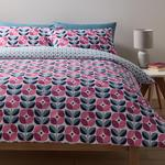 Morrisons Duvet Cover & Pillowcases Retro Floral