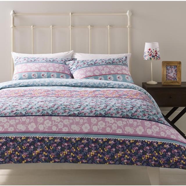morrisons morrisons double duvet cover pillowcases. Black Bedroom Furniture Sets. Home Design Ideas