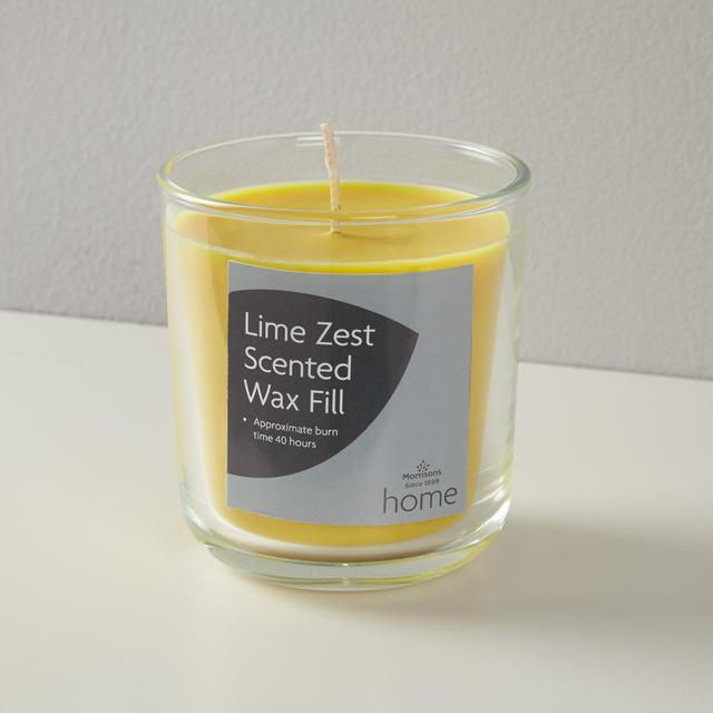 Morrisons Scented Wax Fill Lime Zest