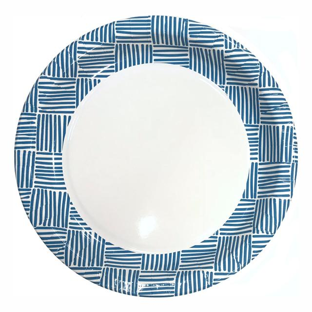 Morrisons Geo Paper Plates 10 Pack