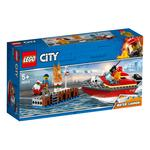 Lego City Dock Side Fire