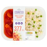 Morrisons Sweet & Sour Chicken & Egg Fried Rice