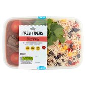 Morrisons Fresh Ideas Pulled Beef Chilli & Rice