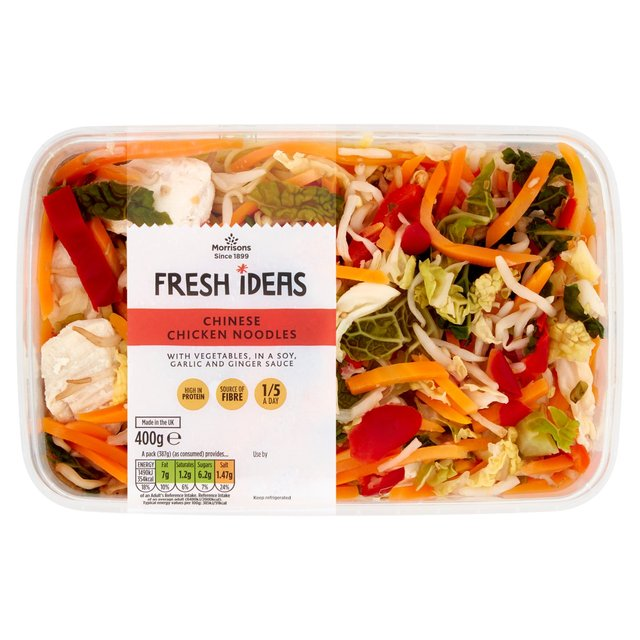 Morrisons Fresh Ideas Chinese Chicken Noodles