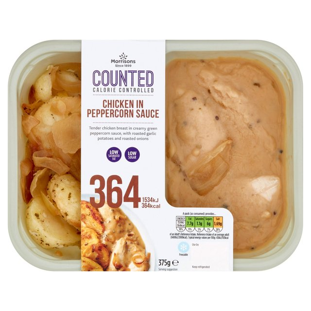 Morrisons Counted Chicken In Peppercorn Sauce