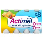 Actimel 0% Fat No Added Sugar Multifruit