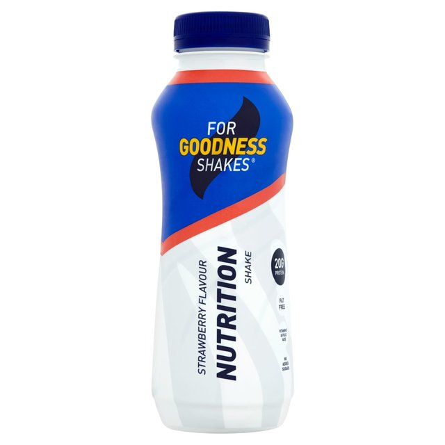 For Goodness Shakes Strawberry Flavour Nutrition Shake