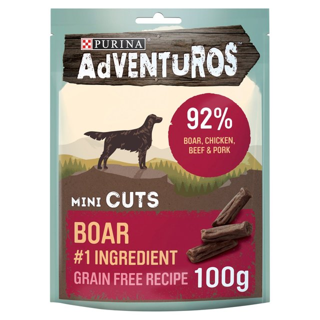 Morrisons: Adventuros Mini Cuts Wild Boar 100g(Product