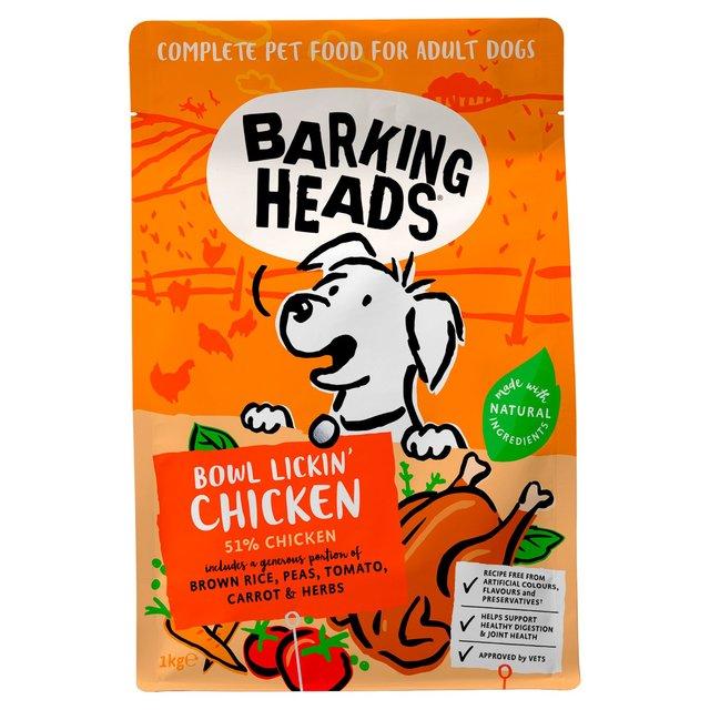 Barking Heads Bowl Lickin' Chicken Adult