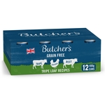 Butcher's Tripe Loaf Recipes Dog Food Tins 12x400g
