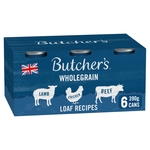 Butcher's Loaf Recipes Dog Food Tins 6x390g