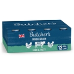 Butcher's Lean & Tasty Low Fat Dog Food Tins 12x400g