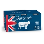 Butcher'S Grain Free With Tripe Mix 6 X 400G