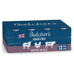 Butcher's Recipes in Jelly Dog Food Tins 12x400g