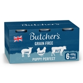 Butcher's Puppy Perfect Dog Food Tins 6x400g