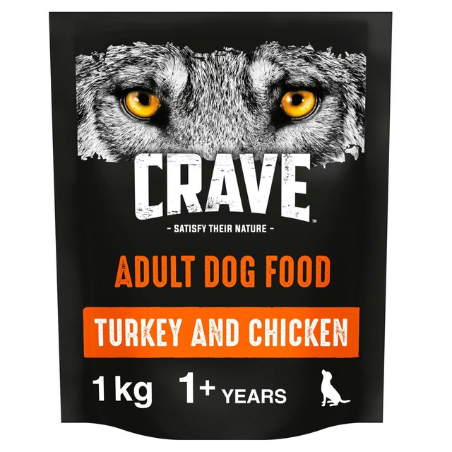 Crave Dog Turkey & Chicken