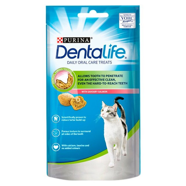 Dentalife Dental Treats For Cats Salmon