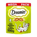 Dreamies With Heavenly Tuna Mega Pack 200G