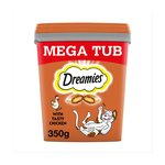Dreamies With Tasty Chicken Mega Tub