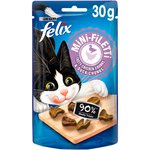 Felix Mini Filetti Cat Treats Chicken And Duck