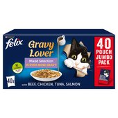 Felix As Good As It Looks Gravy Lover Mixed Selection