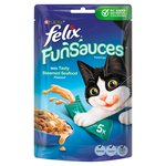 Felix Fun Sauces Toppings With Tasty Steamed Seafood 5 X 15G