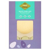 Morrisons Free From White Chocolate Egg & Discs