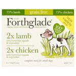 Forthglade Variety Chicken & Lamb Complete Meal Adult 1 Yr+